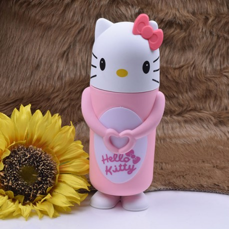 قمقمه فلاسکی طرح Hello kitty |صورتی