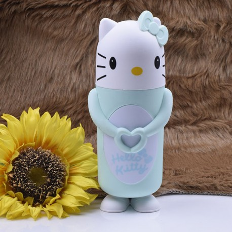 قمقمه فلاسکی طرح Hello kitty |سبز آبی